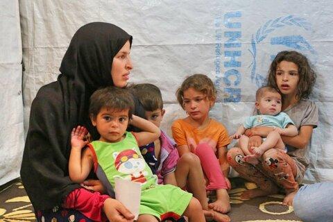 Aiutare subito i più vulnerabili, come Fatima e i suoi figli.