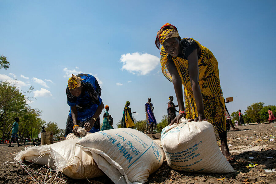 South Sudan: Jonglei state is an area of huge concern for WFP. Photo: WFP/Theresa Piorr