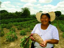 agricoltrice in Bolivia