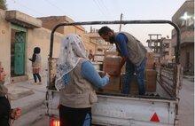 Assistenza vitale del WFP per i siriani in fuga. WFP chiede percorsi sicuri per le consegne umanitarie