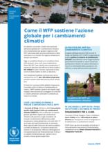 Come il WFP sostiene l'azione globale per i cambiamenti climatici