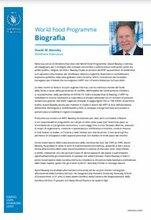 Biografia di David Beasley, Direttore Esecutivo WFP